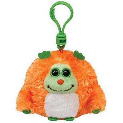 Obrázok Plyš očka Monstaz neon orange přívěšek