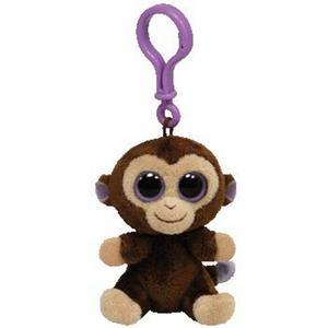 Obrázok Beanie Boos Coconut přívěšek opice tmavě hnědá 8.5 cm