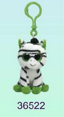 Obrázok Plyš očka přívěšek zebra