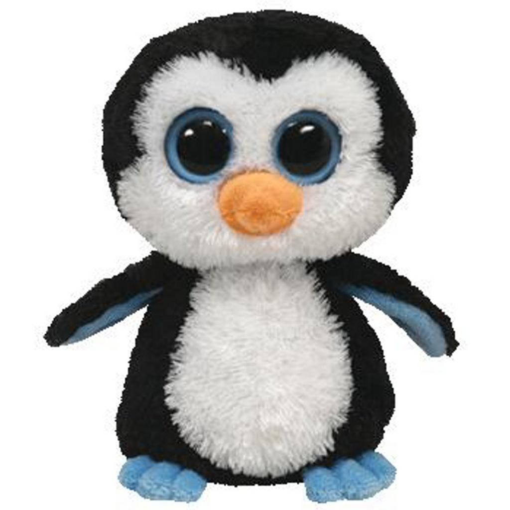Plyš očka střední tučňák