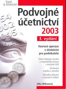 Obrázok Podvojné účetnictví 2003    CP