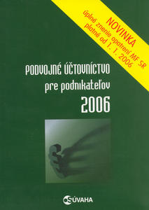 Obrázok Podvojné účtovníctvo pre podnikateľov 2006