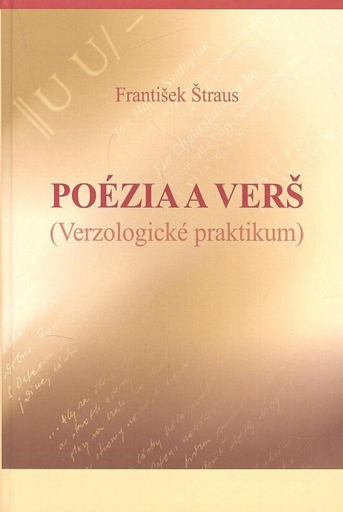 Poézia a verš - František Štraus