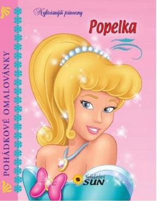 Obrázok Pohádkové omalovánky Popelka