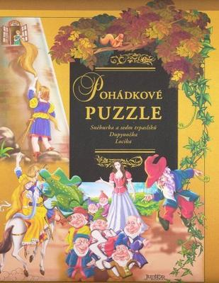 Obrázok Pohádkové puzzle Sněhurka a sedm trpaslíků