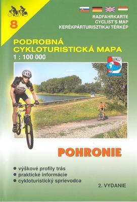 Podrobná cykloturistická mapa Pohronie (8)