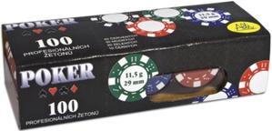 Obrázok Poker 100 profesionálních žetonů
