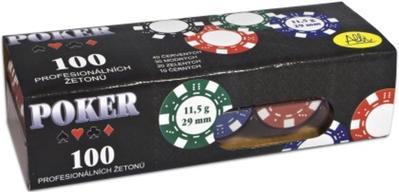 Poker 100 profesionálních žetonů