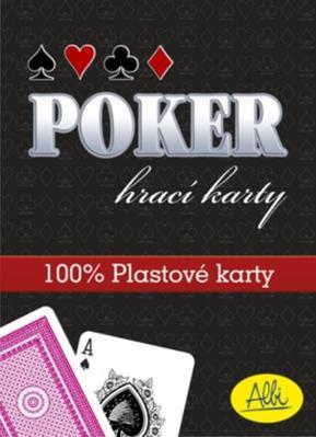 Obrázok Poker hrací karty červené