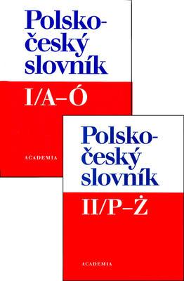 Obrázok Polsko - český slovník I/A-Ó +  II/P - Ž