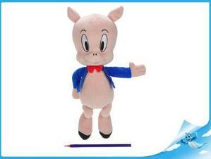 Obrázok Porky pig plyšový