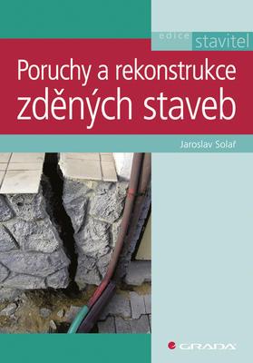 Obrázok Poruchy a rekonstrukce zděných staveb