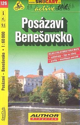 Posázaví, Benešovsko 1:60 000