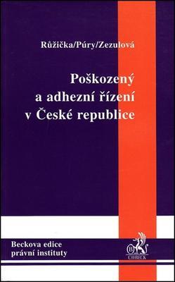 Obrázok Poškozený a adhezní řízení v České republice