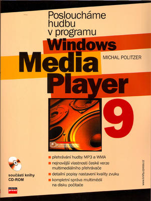 Obrázok Posloucháme hudbu v programu  Windows Media Player 9 + CD