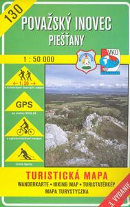 Obrázok Považský Inovec Piešťany 1:50 000