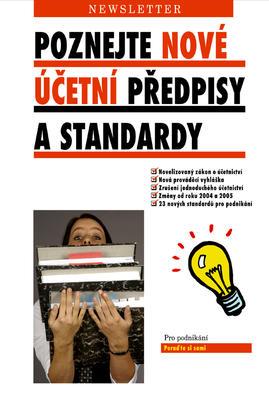 Obrázok Poznejte nové účetní předpisy a standardy