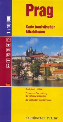 Obrázok Prag Karte touristischer Attraktionen