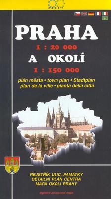 Obrázok Praha 1:20 000 a okolí 1:150 000