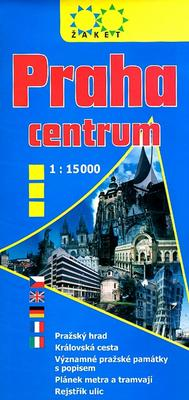 Obrázok Praha centrum 1:15 000