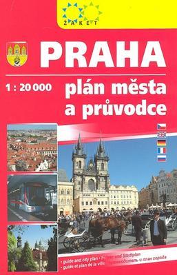 Obrázok Praha knižní plán s průvodcem
