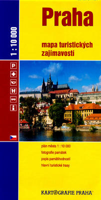 Obrázok Praha Mapa turistických zajímavostí
