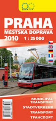 Obrázok Praha městská doprava 2010