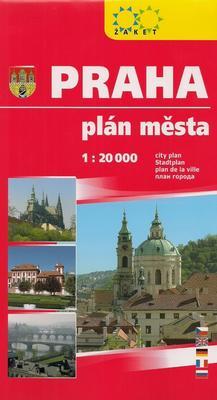 Obrázok Praha plán města