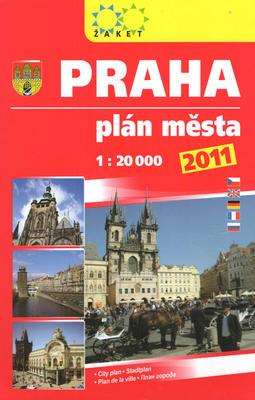Praha plán města