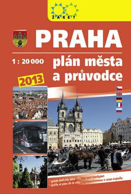 Obrázok Praha plán města a průvodce 2013