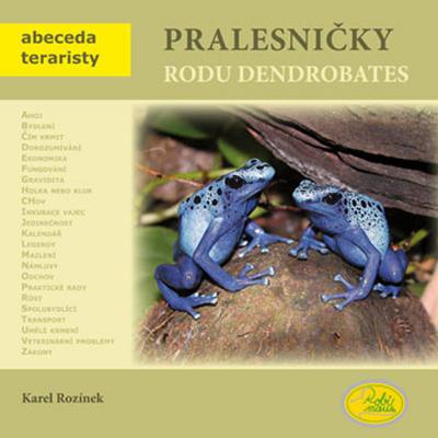 Obrázok Pralesničky rodu Dendrobates