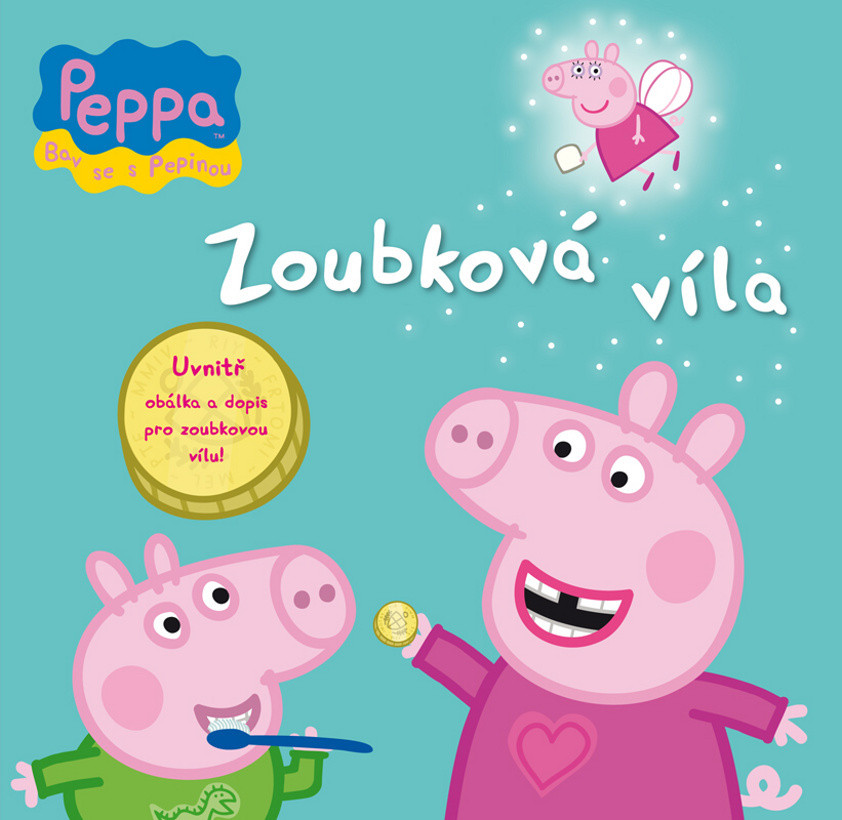 Prasátko Peppa Zoubková víla