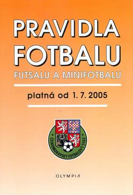 Obrázok Pravidla fotbalu, futsalu a minifotbalu