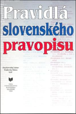 Obrázok Pravidlá slovenského pravopisu