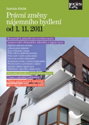 Právní změny nájemního bydlení od 1. 11. 2011