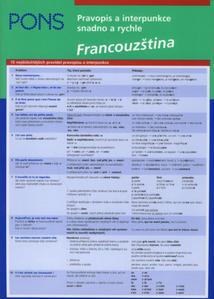 Obrázok Pravopis a interpunkce snadno a rychle Francouzština