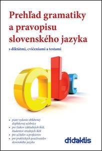 Obrázok Prehľad gramatiky a pravopisu slovenského jazyka
