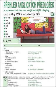 Obrázok Přehled anglických předložek