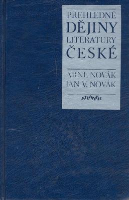 Přehledné dějiny literatury české
