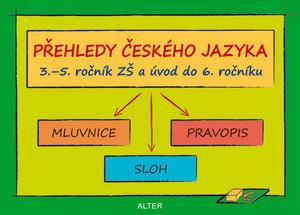 Obrázok Přehledy českého jazyka 3.-5. ročník ZŠ a úvod do 6. ročníku