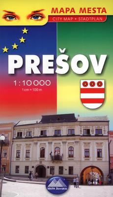 Obrázok Prešov 1:10 000