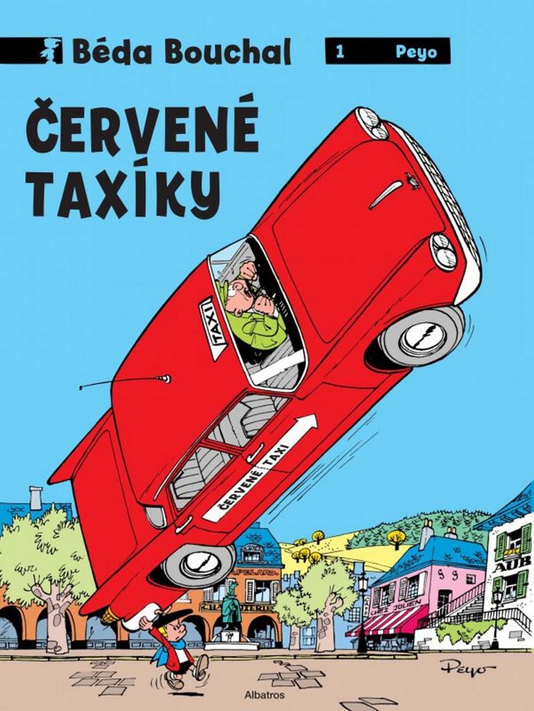 Béda Bouchal 1 Červené taxíky - Peyo