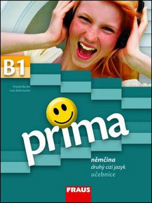 Obrázok Prima B1 Němčina jako druhý cizí jazyk učebnice