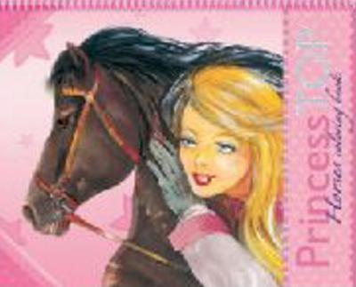 Obrázok Princess Top Horses coloring book