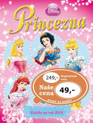Princezna Knížka na rok 2010