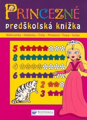 Princezné predškolská knižka