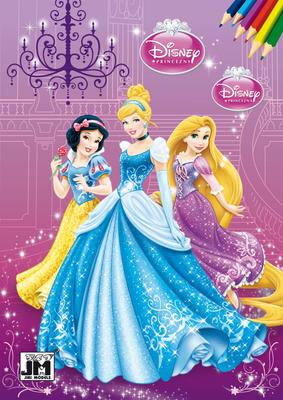 Obrázok Princezny omalovánka
