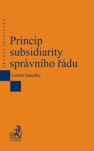Obrázok Princip subsidiarity správního řádu