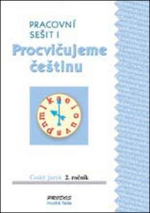 Obrázok Procvičujeme češtinu Český jazyk 2.ročník Pracovní sešit I