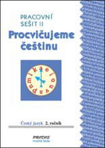 Obrázok Procvičujeme češtinu Český jazyk 2.ročník Pracovní sešit II
